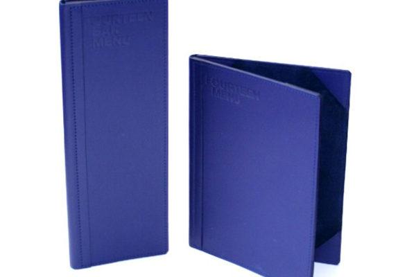 Treadstone Menus - Luxury Room Menu Covers