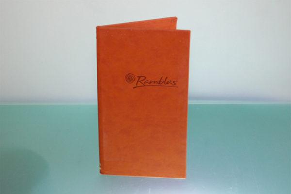 Treadstone Menus - Hardcover Restaurant Menu