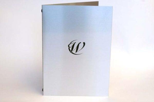 Treadstone Menus - Luxury Embossed Menu Cover